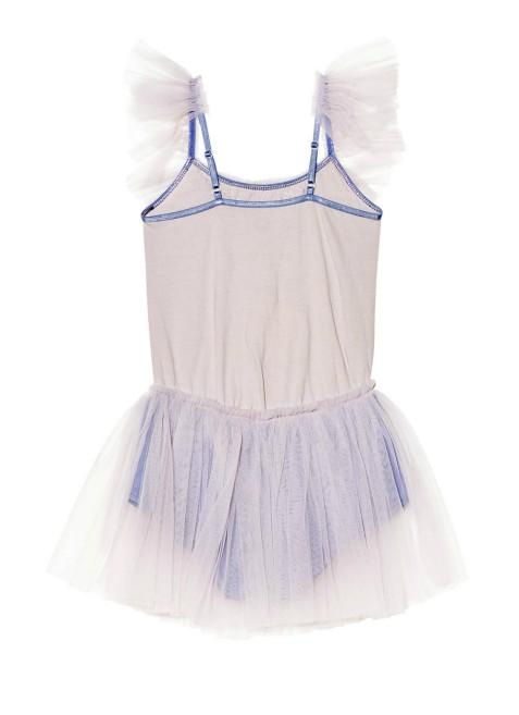 Tutu Du Monde Kids Vanishing Act Onesie - Earl Grey