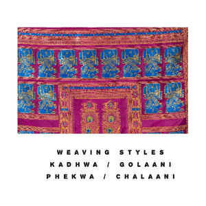 Weaving styles - The price we pay. Why?