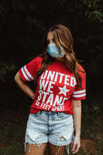 Load image into Gallery viewer, United We Stand Jersey Tee