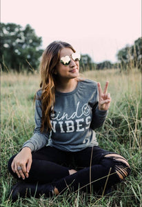 Kind Vibes (Deep Heather) Long Sleeve