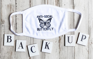 Anti Social Butterfly Mask DROPSHIP