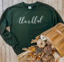 Load image into Gallery viewer, Thankful (Forest Sweatshirt)