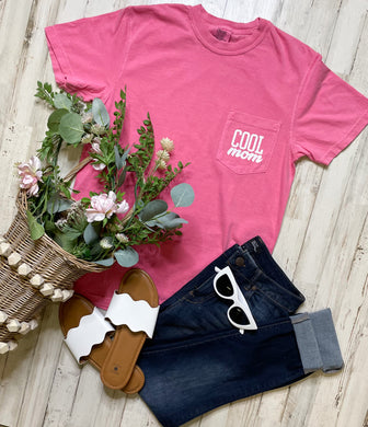 Cool Mom Comfort Colors Pocket Tee
