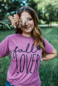 Fall Lover (Heather Cassis Tultex)