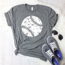Load image into Gallery viewer, Distressed Baseball Tee