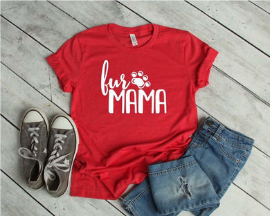 Fur Mama (Heather Red)
