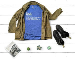 Dad Definition Tee DROPSHIP