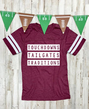 Load image into Gallery viewer, Touchdowns Tailgates Traditions