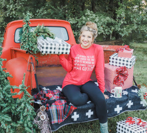 NEW Gonna Go Lay Under The Tree (Tultex Heather Red) Long Sleeve
