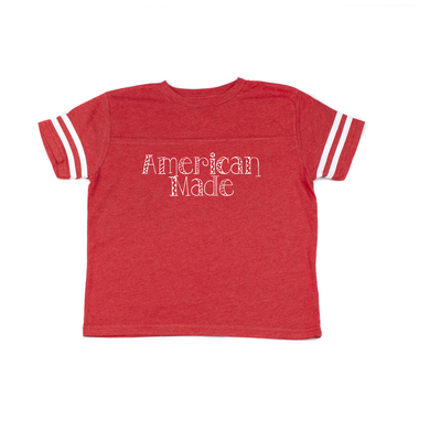 American Made Girls Jersey Tee