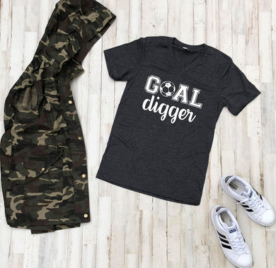 Goal Digger (Dark Grey Heather)