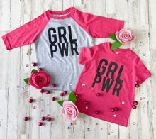 Load image into Gallery viewer, GRL PWR Kids Tee
