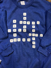 Load image into Gallery viewer, Love Scrabble Sweatshirt DROPSHIP