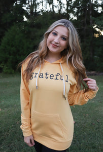 Grateful (Gold Hoodie) DROPSHIP
