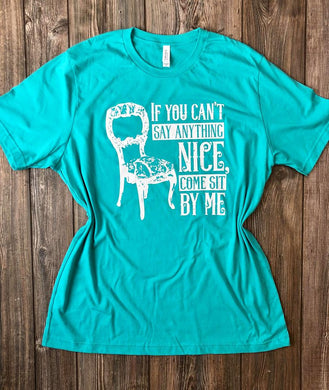 Sit By Me (Teal)