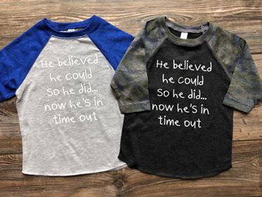 He Believed Kids Tee