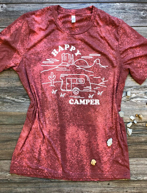 Happy Camper (Distressed)