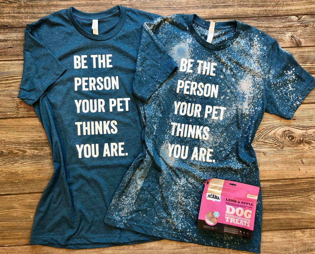 Be The Person Deep Teal (Distressed)