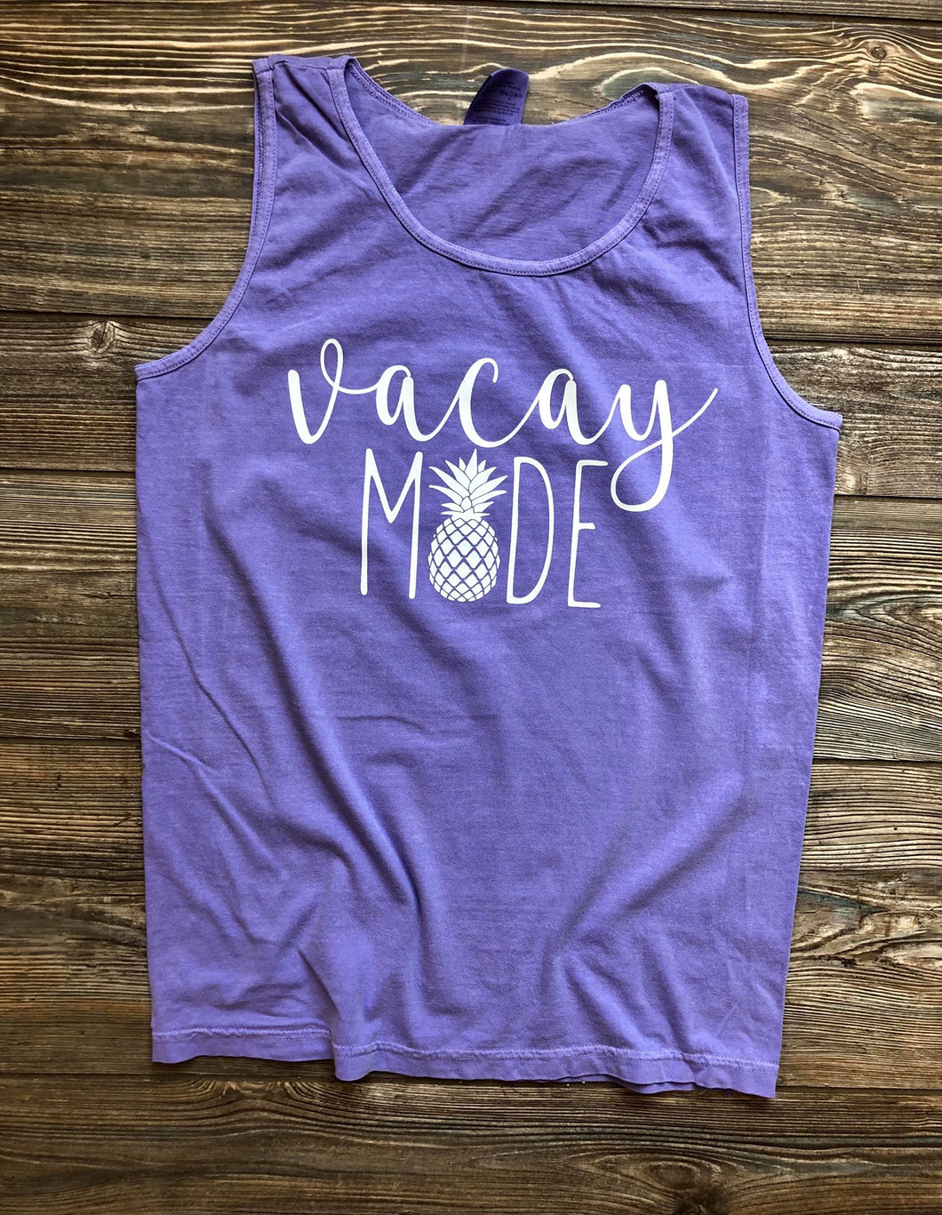 Vacay Mode Comfort Colors Tank