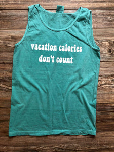 Vacation Calories Tank