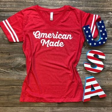 American Made Women's Jersey Tee