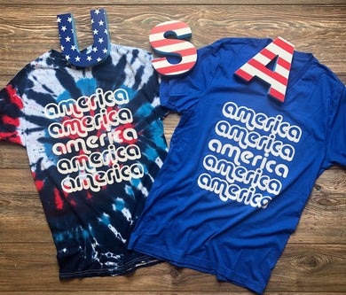 Retro America True Royal Tee