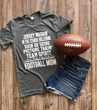 Load image into Gallery viewer, Jersey Washin' Football Mom DROPSHIP