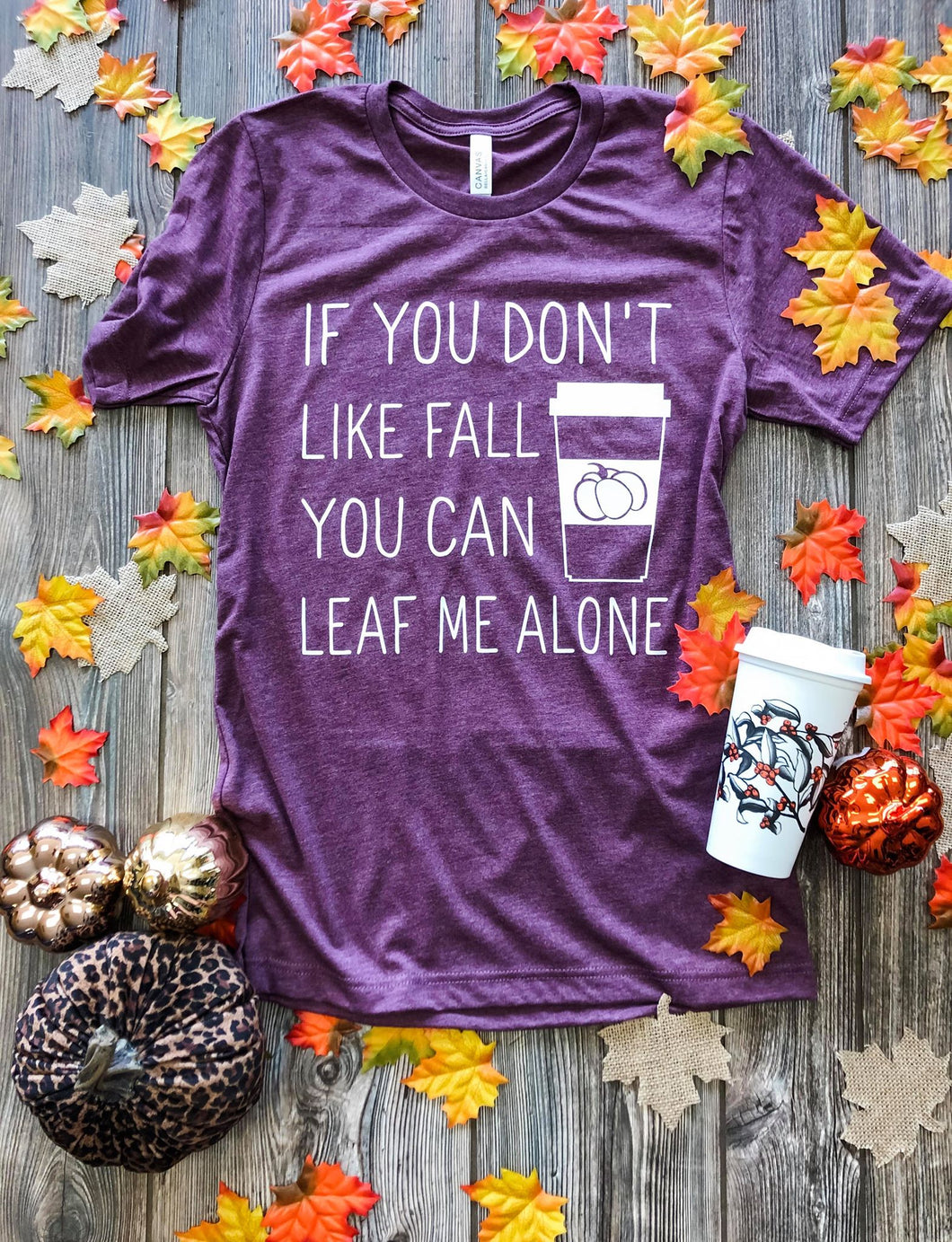 Leaf Me Alone Tee DROPSHIP