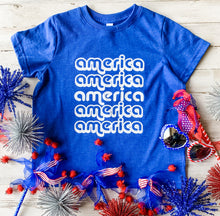 Load image into Gallery viewer, Retro America Kids Tee DROPSHIP