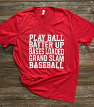 Load image into Gallery viewer, Softball Phrases Tee