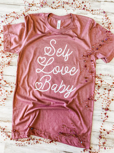 Self Love Baby (Heather Mauve) DROPSHIP