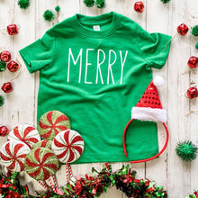 Load image into Gallery viewer, Merry Kids Tee DROPSHIP