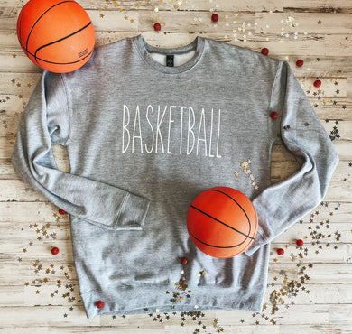 BASKETBALL Sweatshirt (Athletic Grey)
