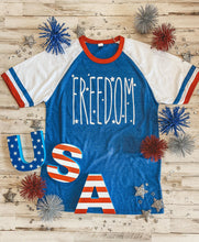 Load image into Gallery viewer, FREEDOM Slapshot Youth Tee DROPSHIP