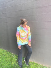 Load image into Gallery viewer, Kind Vibes Tie Dye Hoodie DROPSHIP