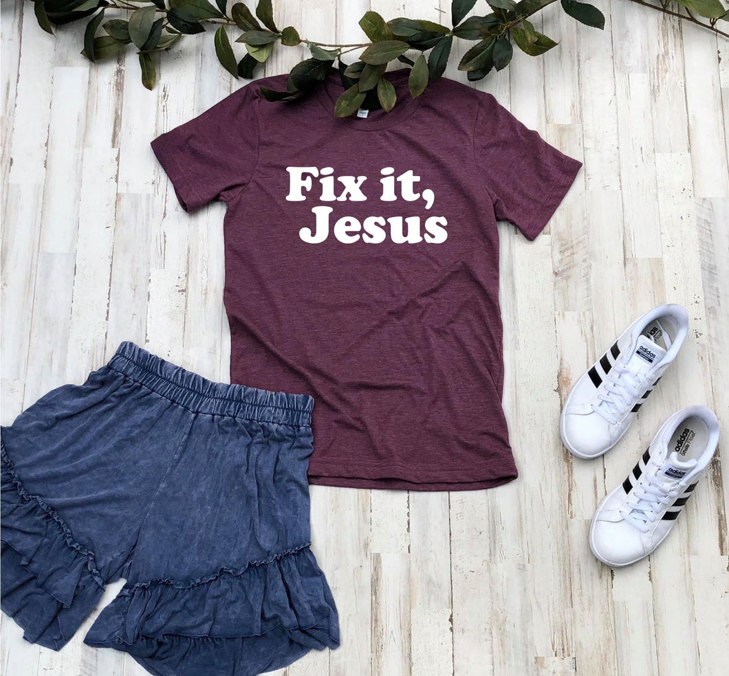 Fix It Jesus Transfers