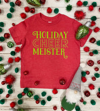 Load image into Gallery viewer, Holiday Cheermeister Kids Tee DROPSHIP