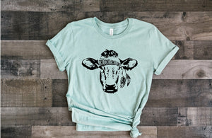 Gypsy Cow (Heather Dusty Blue)