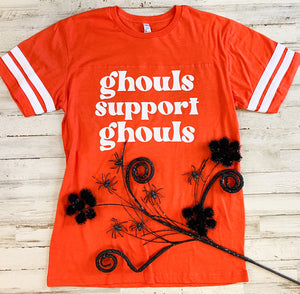 Ghouls Support Ghouls (Jersey Tee) DROPSHIP