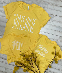 Little Ray of Sunshine Kids Tee
