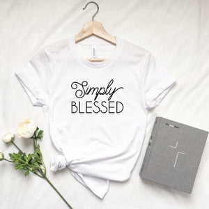 Simply Blessed (White)