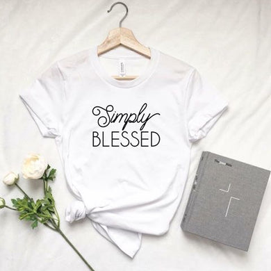 Simply Blessed (White) RTS