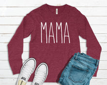 Load image into Gallery viewer, MAMA Long Sleeve Tee DROPSHIP