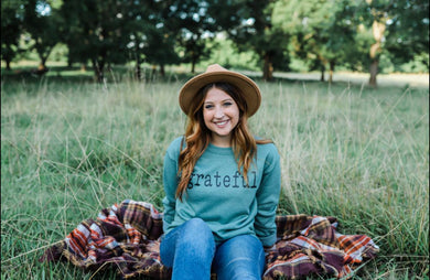 Grateful (Sport Dark Green) Sweatshirt