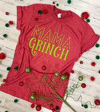 Load image into Gallery viewer, Mama Grinch (Tultex Heather Red) DROPSHIP