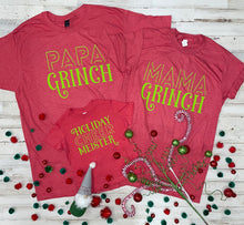 Load image into Gallery viewer, Papa Grinch (Tultex Heather Red)