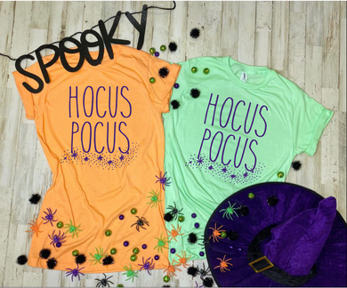 Hocus Pocus (Purple Ink) Adult Tee