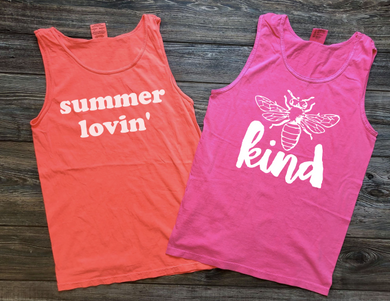 Summer Lovin' Comfort Color Tank
