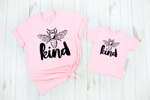 Bee Kind Kids Tee DROPSHIP