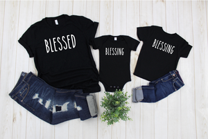 Blessed (Mommy and Me) Tee DROPSHIP